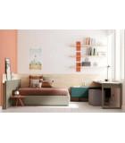 Dormitorios juveniles camas individuales